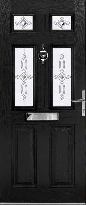 Black Aintree Door
